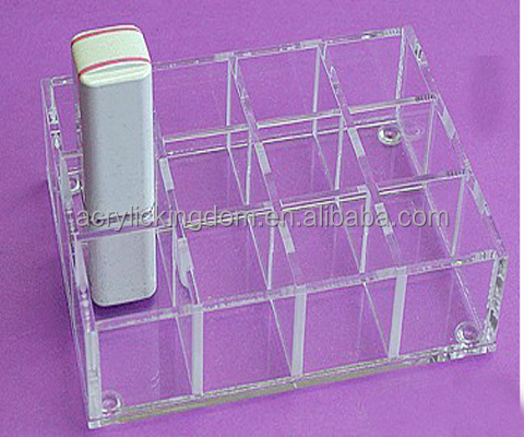 Wholesale clear acrylic lipstick holder