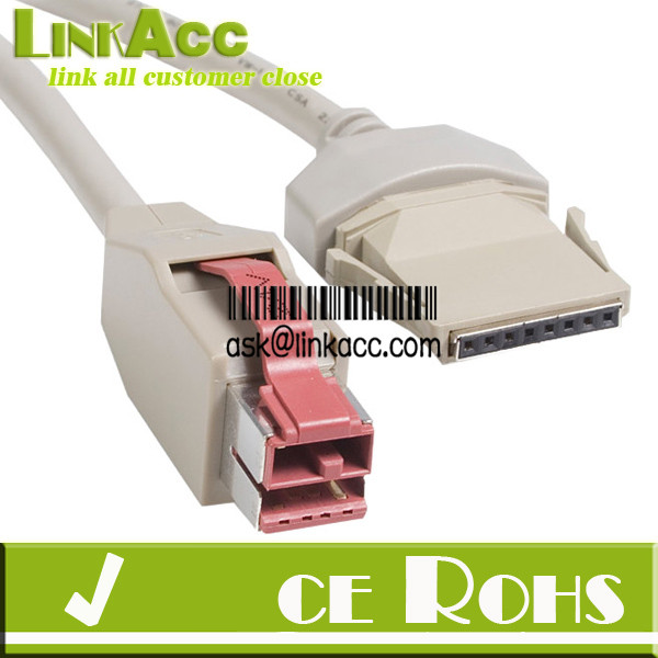 PS//2 to SDL 6 Pin 6ft IBM Lexmark Unicomp Model M Clicky Keyboard Cable NEW PS2