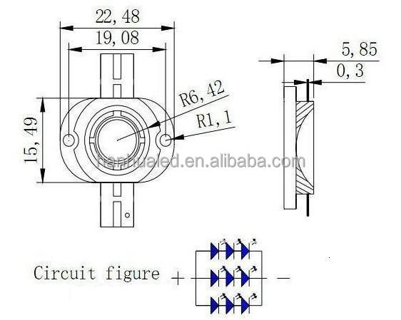 2 years quality guarantee white 10 watt laser diode