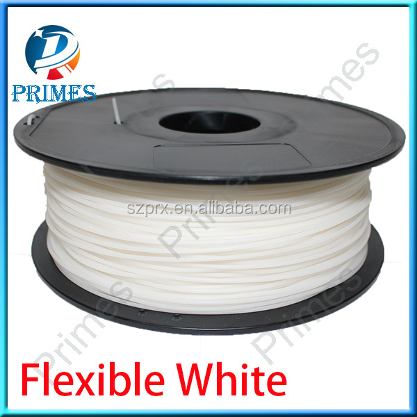 Primes 3D Rubber filament soft with 1.75mm and 3.0mm