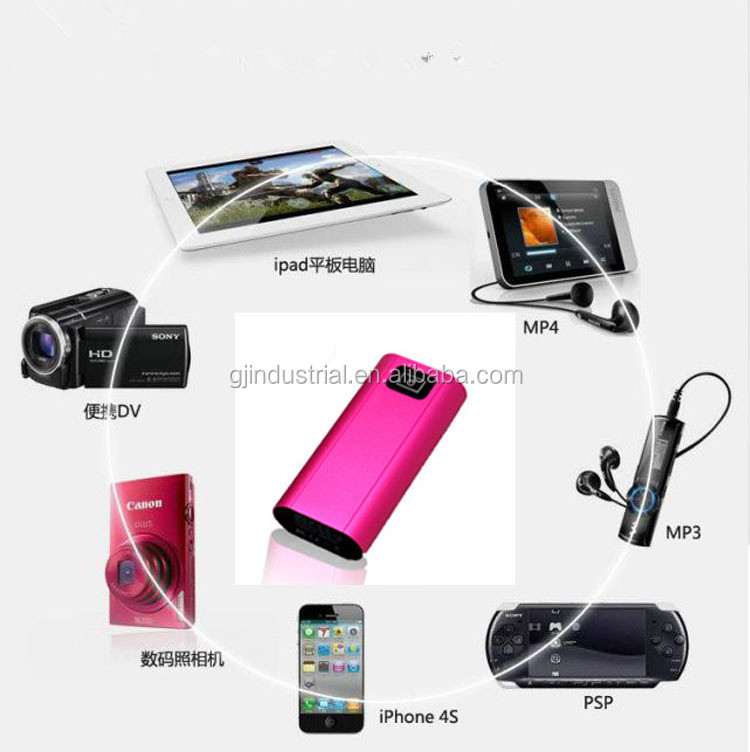 2014 portable high capacity hand warmer power bank