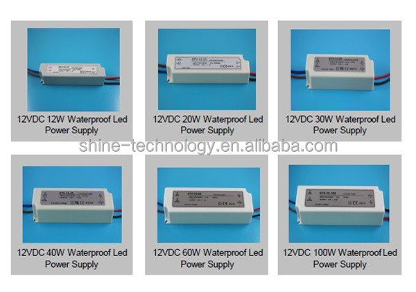 waterproof electronic led driver 45w
