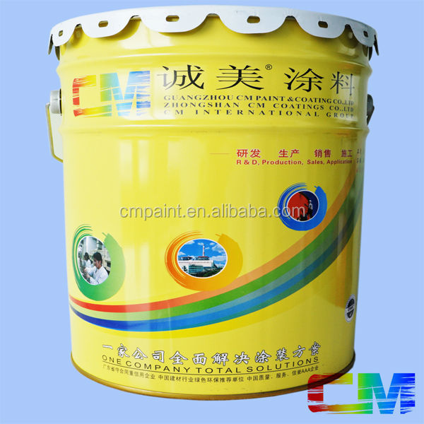 Nano silicon fluorocarbon concrete wall as-cast finish cement protection painting