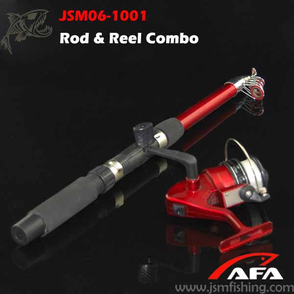 Wholesale high quality fishing reel rod combo jsm06 1001 for Cheap fishing rods and reels combo