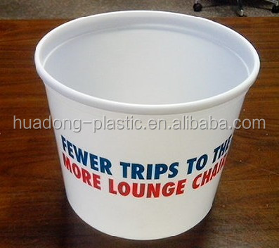PP plastic bucket at low price