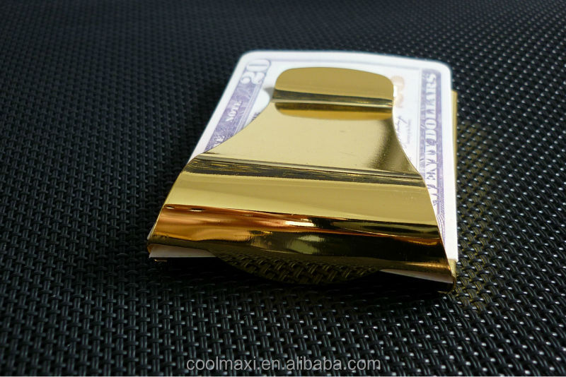 Money clips with customized logo,credit card clip