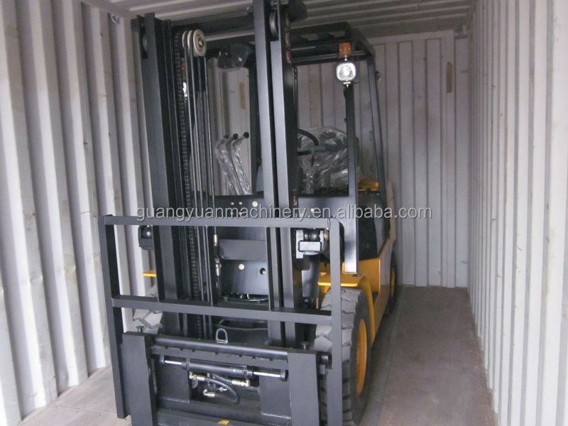New Cheap 3Ton Diesel full-free lift mast Forklift Truck CPCD30FR with CE