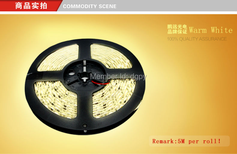 LED manufacturer Waterproof flexible led strip light RGB 5050 strip LED