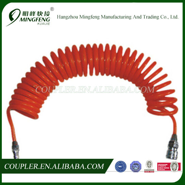 Flexible Spiral PU High Pressure Compressor Air Hose