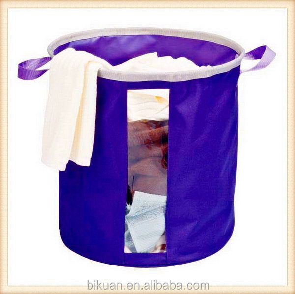 Designer new products laundry basket bin w removable liner