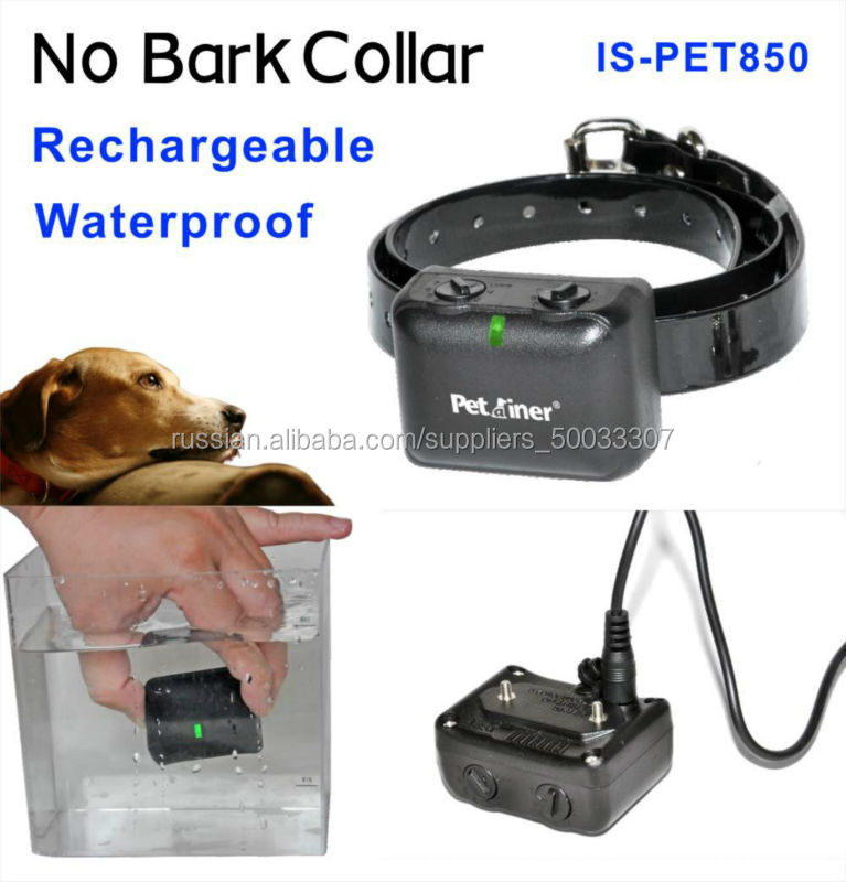 No barking Equipment For Dogs Training with anti-bark collar