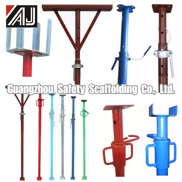 Strong Scaffolding Adjustable Steel Props For Sale (Made In Guangzhou,China)