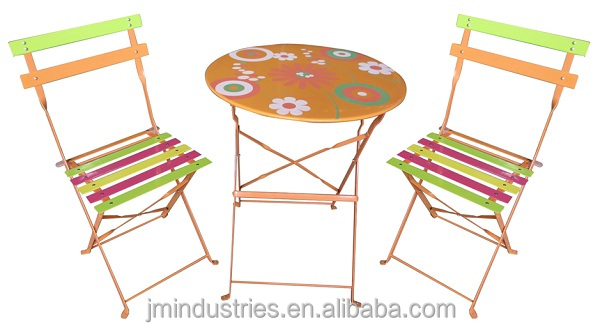 Restaurant cafe bistro table and chair sets