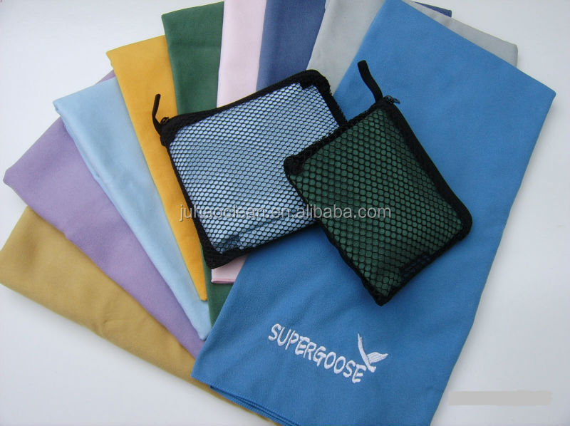 Microfibre sport towels,Hiking towels,Gym towels with embossed logo