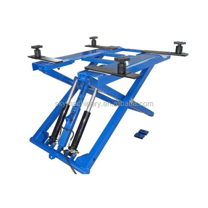 Portable Pneumatic Lift Arms : Lxd manual hydraulic lifter car hoist scissor lift