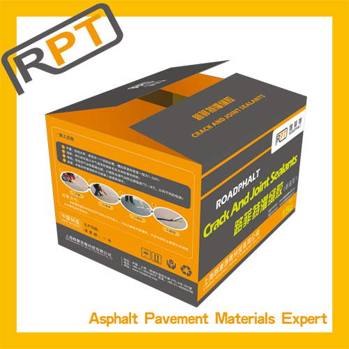 Road maintenance material / road sealant material