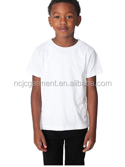 Wholesale children blank raglan t shirt with short sleeve for Kids t shirts in bulk