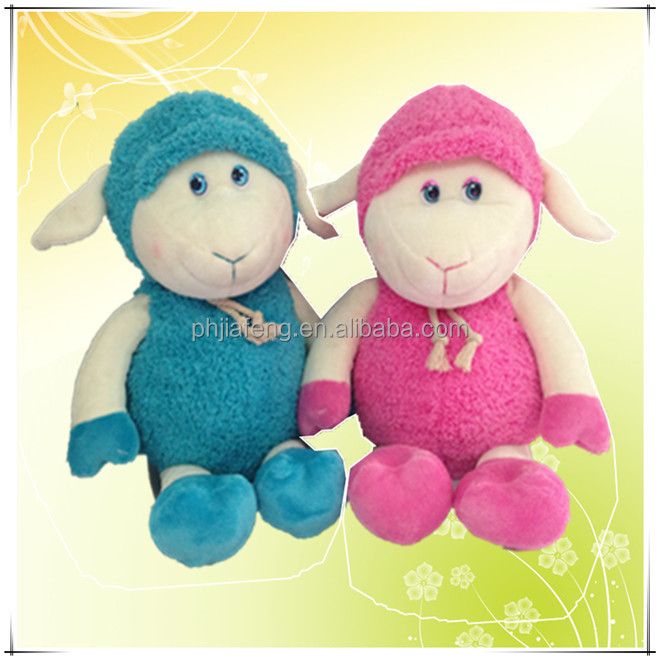 plush sheep candy bag toys
