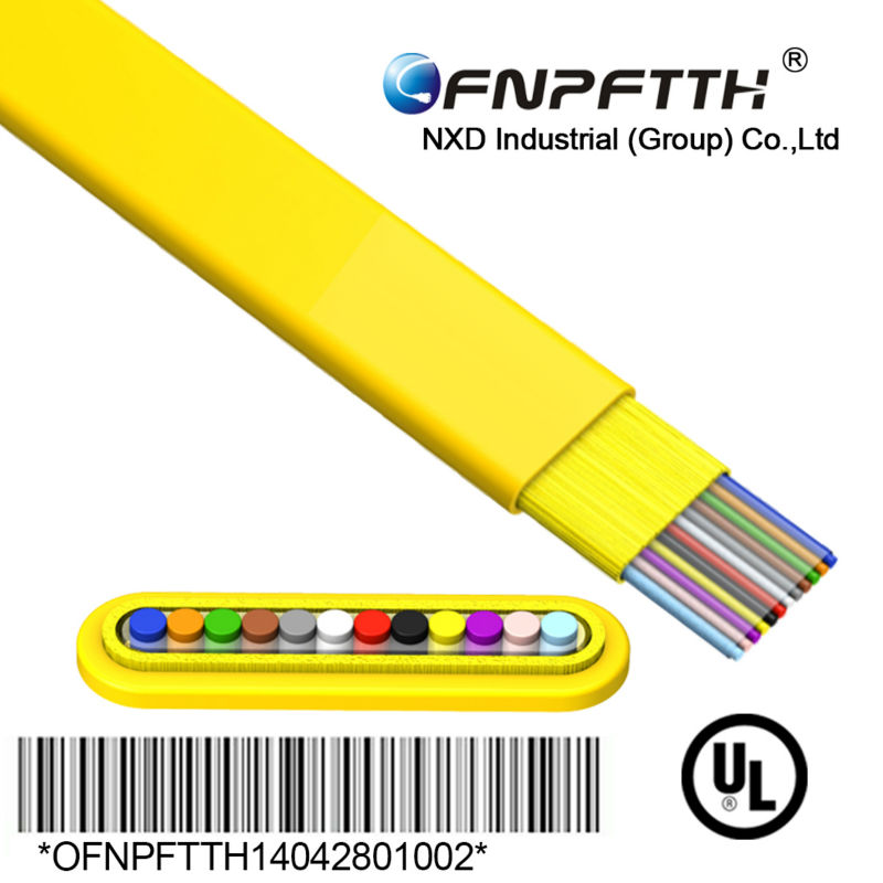 4-12 Cores Ribbon Fiber Optic cable