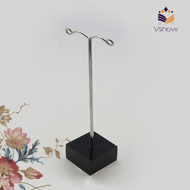 Ornament jewelry T bar organizer earring display stands holder