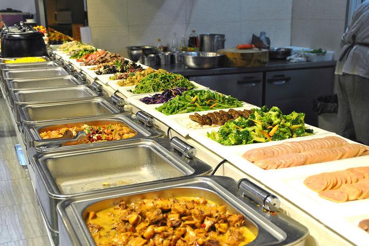 Free Standing Electric Buffet Food Warmer Bain Marie