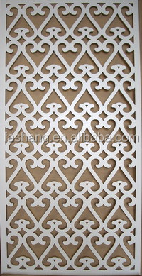 Best quality of 1220 2440 perforated decorative mdf panels