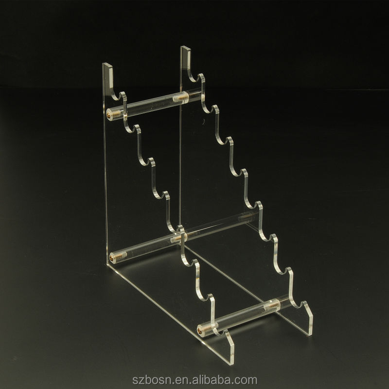 Black Acrylic Pen Holder,Acrylic Pen Rack