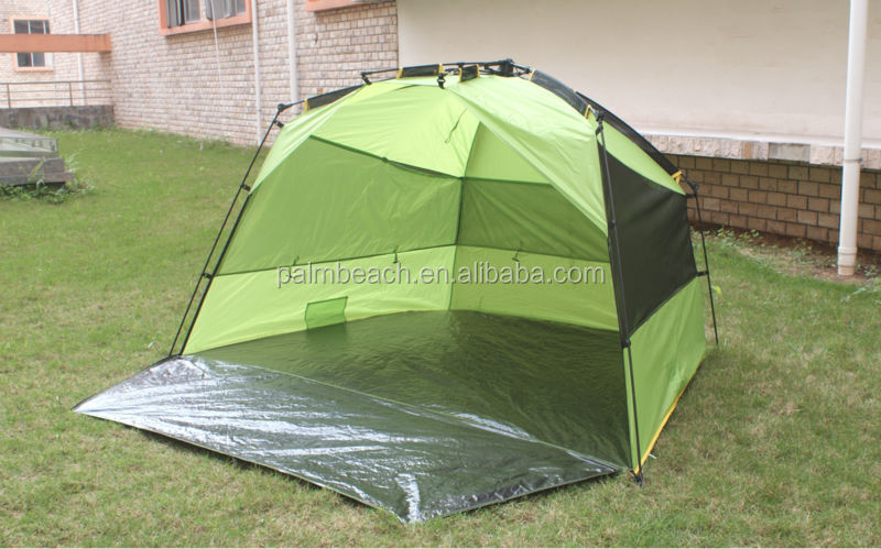 Fishing Pop Up Shelter : Automatic fishing tent beach shelter with umbrella pop up