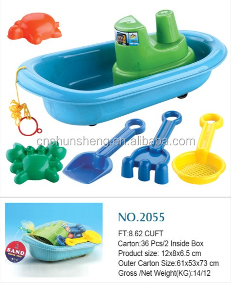 Beach Toy And Games Factory Item Plastic Kids Beach Toys Boat