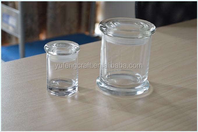 latest design decorative glass jars and lids container. Black Bedroom Furniture Sets. Home Design Ideas