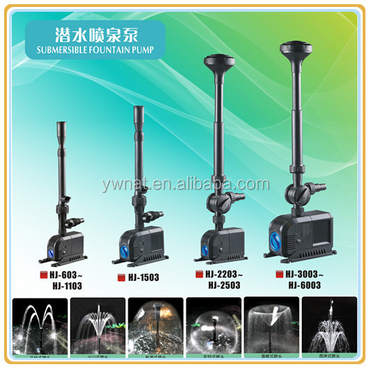 Garden pond water pump submersible water pump water for What size pond pump do i need