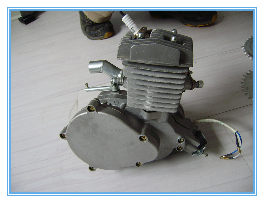 gasoline engine for the bicycle/2 stroke 80cc engine kit/2 stroke engine 66cc/ bicycle engine kit