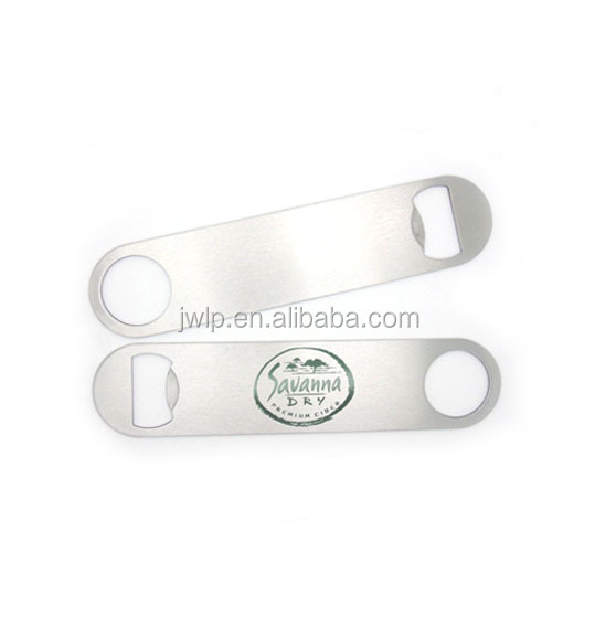 Stainless Steel Flat Bar Bottle Opener