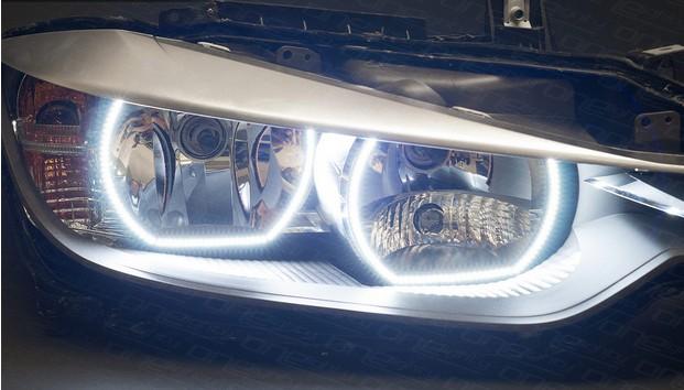 Bmw F30 Angel Eyes Headlights