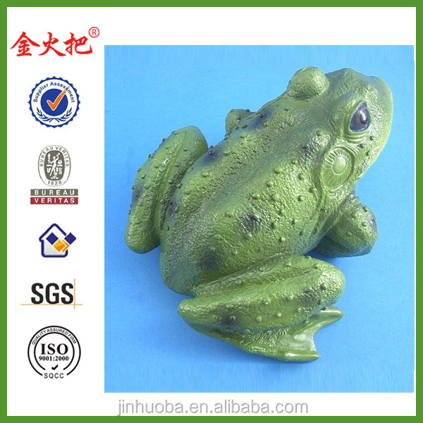Wholesale Garden frog figurine for decoration&frog statue