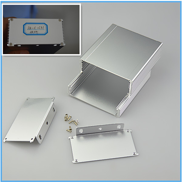 2014 new aluminum electronic enclosure with drilling