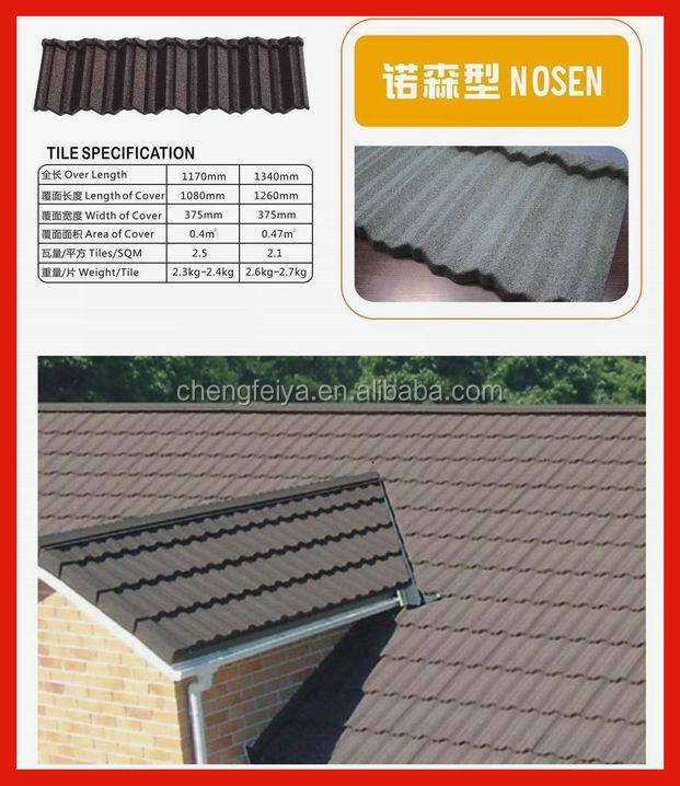 china factory competitive price stone chip coat roof tile
