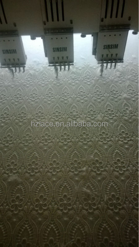 chemical lace cotton for garment accessory