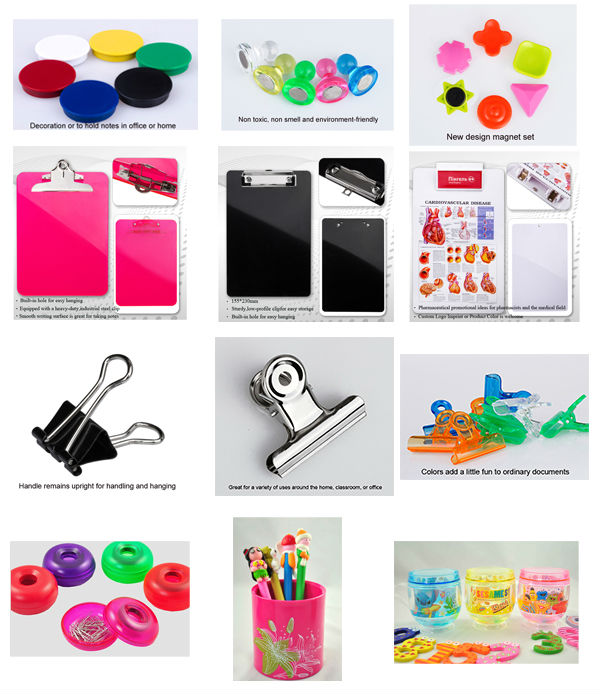 colored binder clips for stationery product
