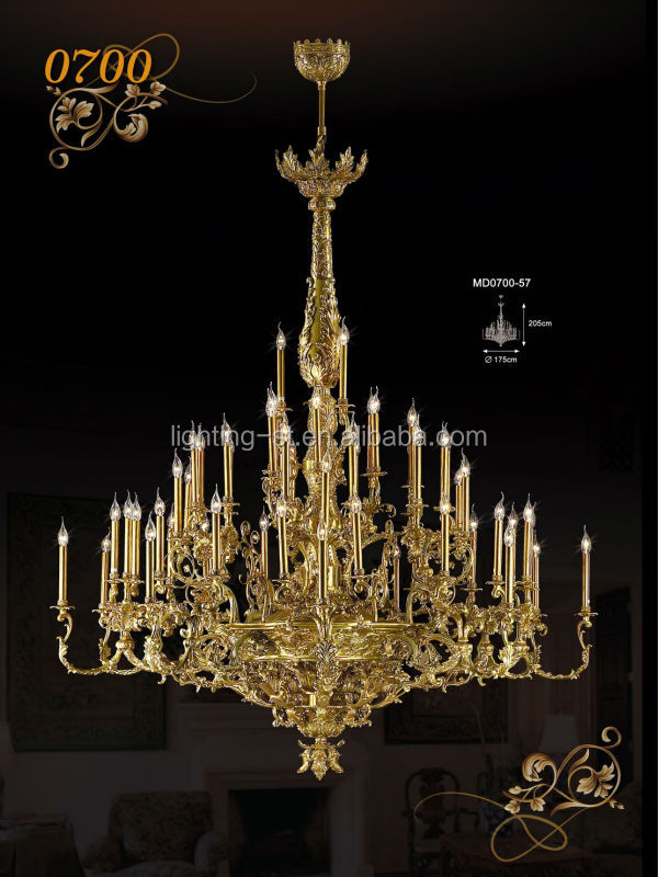 Mariar Theresa crystal chandelier, Brass & Strass chandeliers MD0700-57