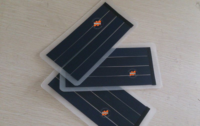 1W 6V Small Transparent Flexible Solar Panel with High Efficiency