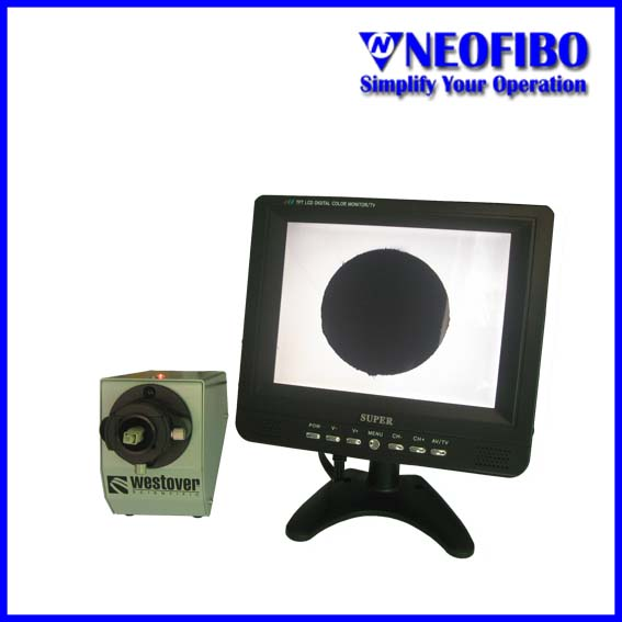 200X Fiber optic connector inspection microscope
