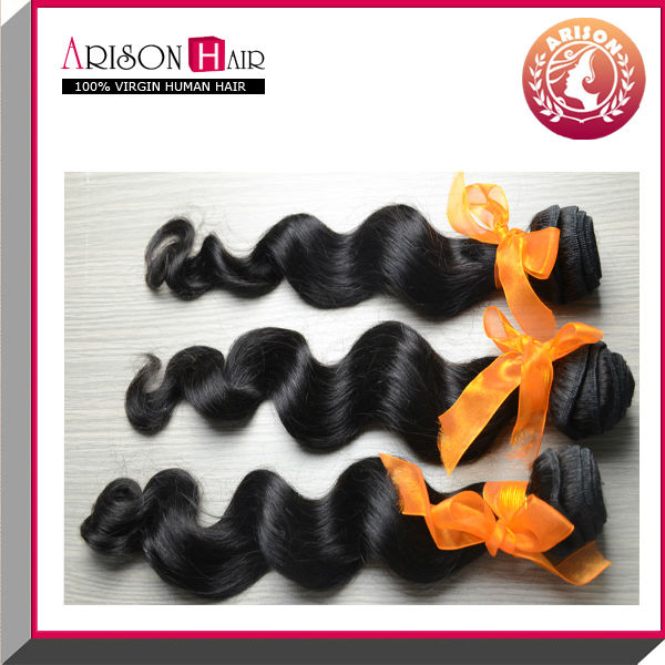 fashion product hot sale body wave virgin brazilian hair extension