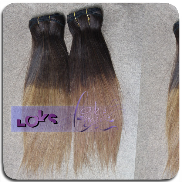 colored two tone hair weave wholesale price new color #99-#530