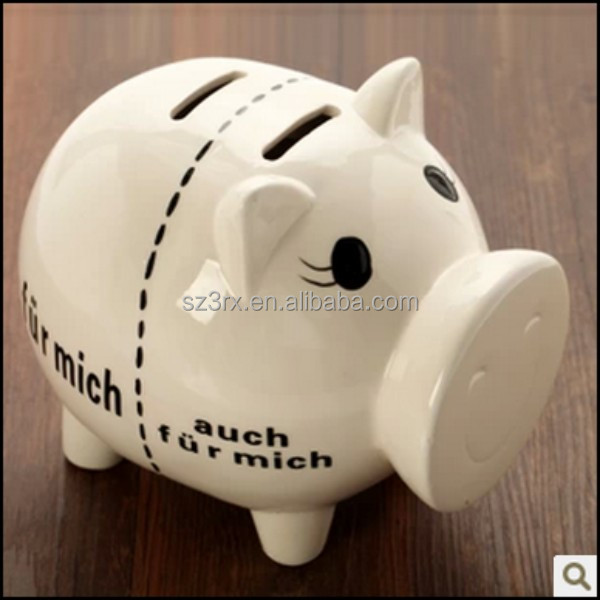 giant piggy bank, giant pig piggy bank, large plastic pig shaped piggy bank