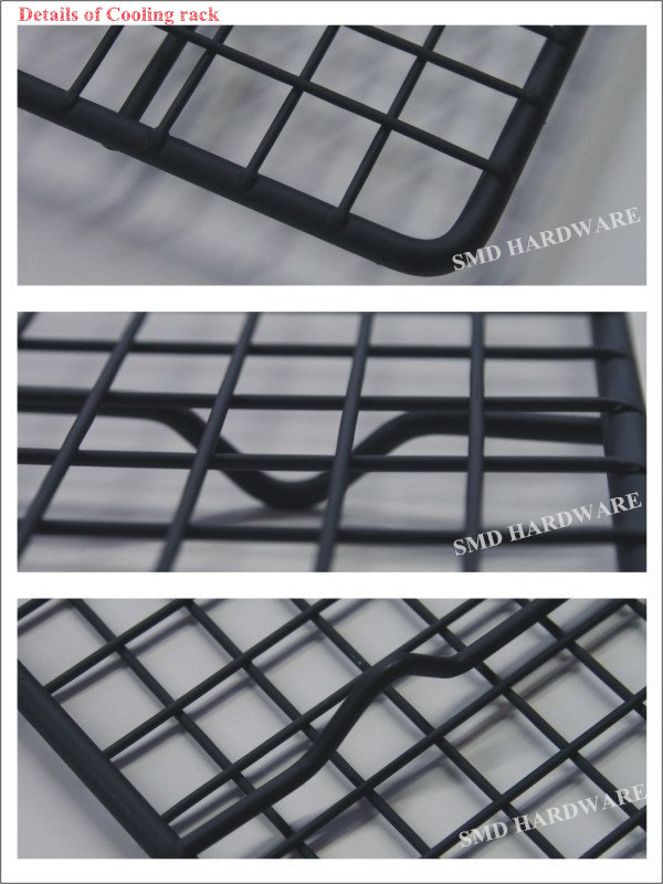 Powder coated iron wire folding dog cage
