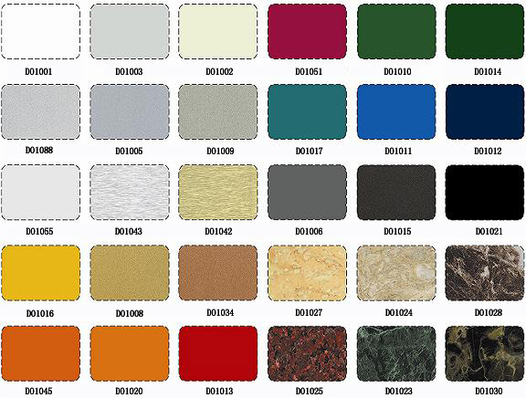 Cost Price Of Different Thickness And Temper Color Aluminum Sheet ...