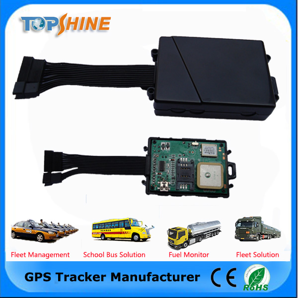 Manual sms gps tracker with free vehicle tracking system gps sim card tracking device MT100