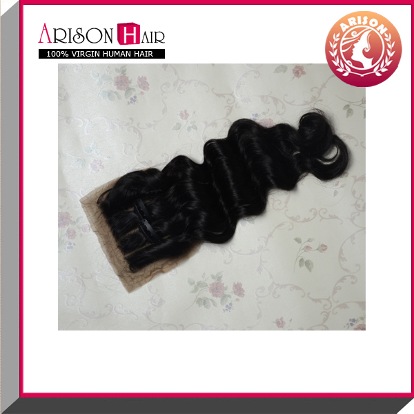 virgin hair silk base free part closure silk base closure with baby hair