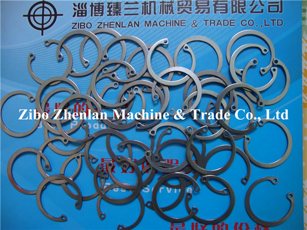 Hot Sale Stainless Steel 304 316 DIN471 DIN472 DIN6799 Retaining Washer/Circlip
